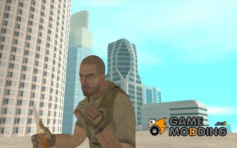 Нож HD for GTA San Andreas