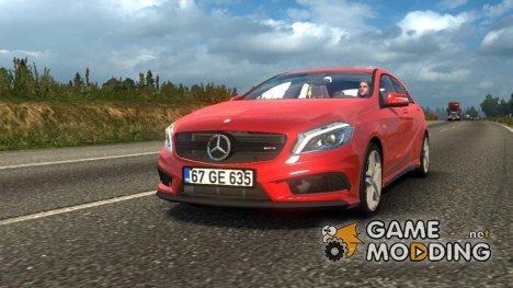 Mercedes-Benz A45 для Euro Truck Simulator 2