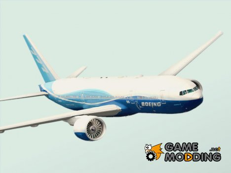 Boeing 777-200LR Boeing House Livery (Wordliner Demonstrator) N60659 for GTA San Andreas