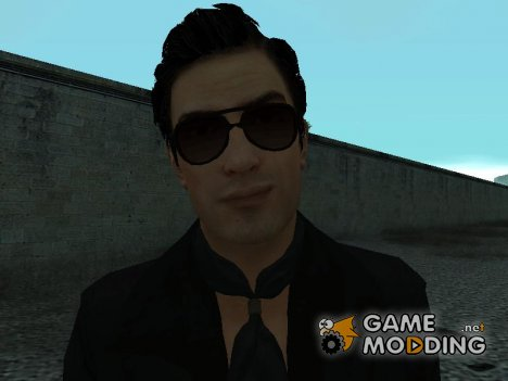 Vito's Black Vegas Suit from Mafia II для GTA San Andreas