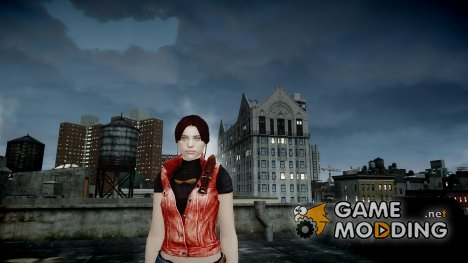 Claire Redfield HD (Resident Evil) для GTA 4