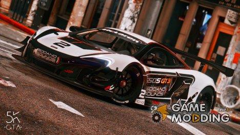 2015 McLaren 650 S GT3 v1.06 for GTA 5