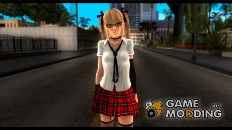 Dead Or Alive 5U Marie Rose School для GTA San Andreas