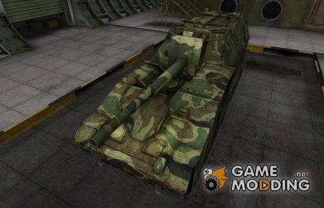 Скин для танка СССР СУ-14 for World of Tanks