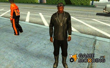 Куртка без рисунка сзади для GTA San Andreas