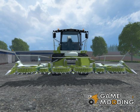Claas Jaguar 870 for Farming Simulator 2015