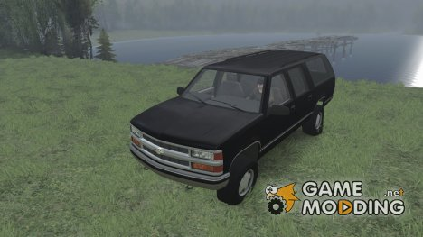Chevrolet Suburban GMT400 for Spintires 2014