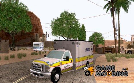 Ford F-350 Ambulance for GTA San Andreas