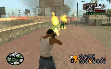 Зажигательные патроны for GTA San Andreas