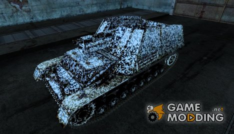 Шкурка для Hummel для World of Tanks