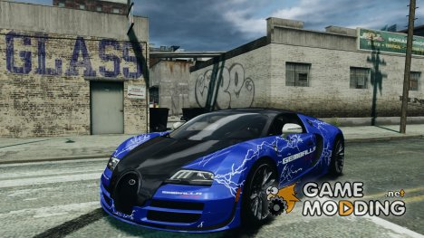 Bugatti Veyron 16.4 Super Sport 2011 v1.0 Gemballa Racing for GTA 4