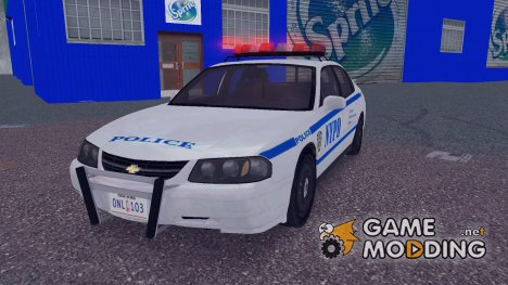 Chevrolet Impala New York Police Department для GTA 3