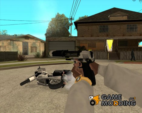 USP-S: Закрученный for GTA San Andreas