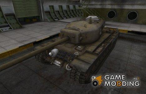 Зоны пробития контурные для T30 for World of Tanks