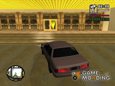 Грабить казино Калигула for GTA San Andreas