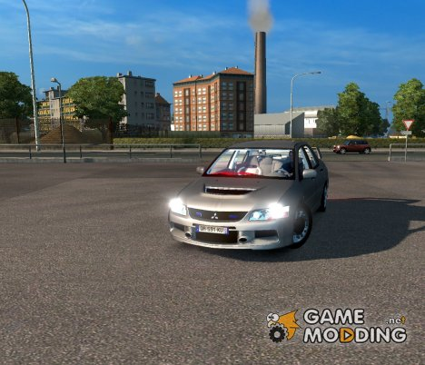 Mitsubishi Lancer Evolution 1.1 for Euro Truck Simulator 2
