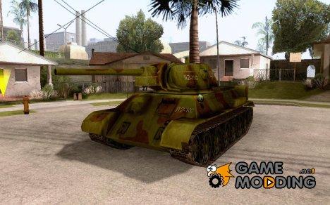 Танк T-34-76 for GTA San Andreas
