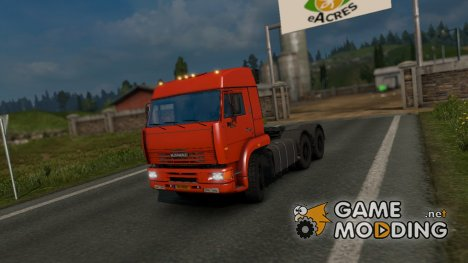 КамАЗ 6460 for Euro Truck Simulator 2