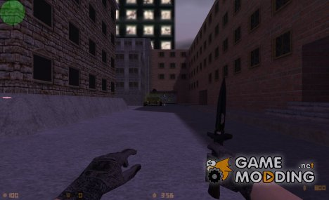 Black Combat Knife for Counter-Strike 1.6