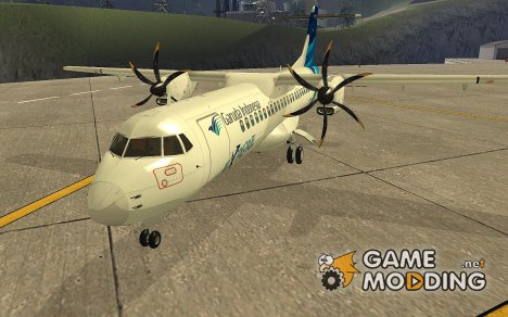 ATR 72-500 Garuda Indonesia for GTA San Andreas