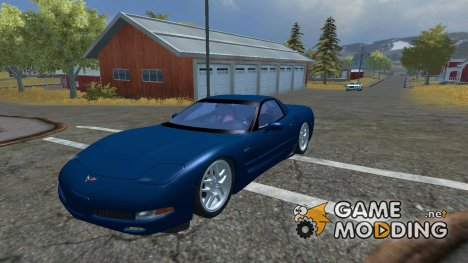 Chevrolet Corvette C5 Z06 for Farming Simulator 2013