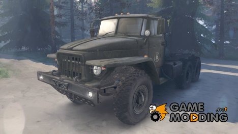 Урал 375 for Spintires 2014