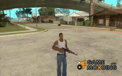 Автомат Калашникова АК-47 для GTA San Andreas
