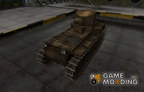 Скин в стиле C&C GDI для T1 Cunningham for World of Tanks
