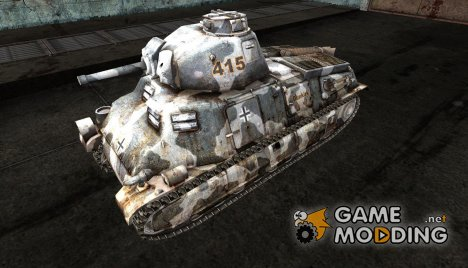 Шкурка для S35 for World of Tanks