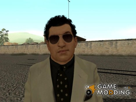 Joe with White suit from Mafia II для GTA San Andreas