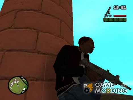 Uzi из Call of Duty Black Ops для GTA San Andreas