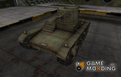 Шкурка для китайского танка Vickers Mk. E Type B для World of Tanks