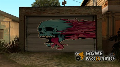 Рисунок на гараже HD для GTA San Andreas