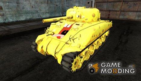 """M4 Sherman """"Sponge Bob"""" для World of Tanks"""