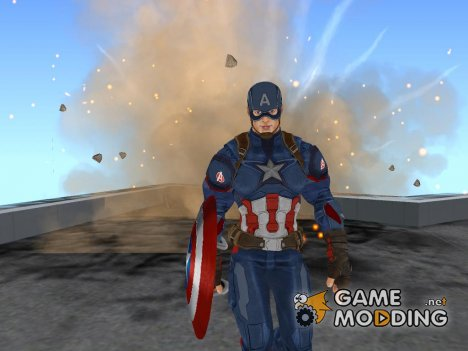 Captain America Civil War HD (2016) для GTA San Andreas