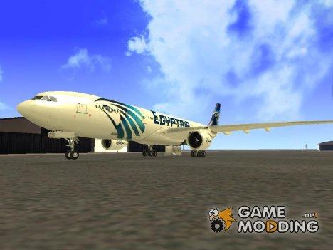 Airbus A330-300 EgyptAir for GTA San Andreas
