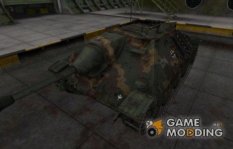 Исторический камуфляж Hetzer for World of Tanks