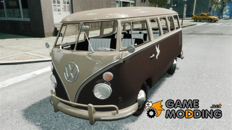 Volkswagen T1 Bus 1967 for GTA 4