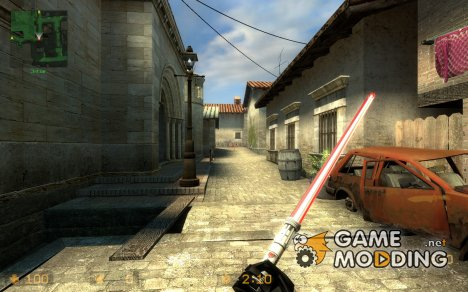 Enhanced Darth Maul Light Saber for Counter-Strike Source
