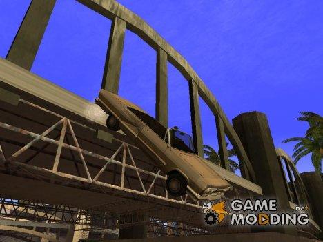 Заморозить машину в воздухе for GTA San Andreas
