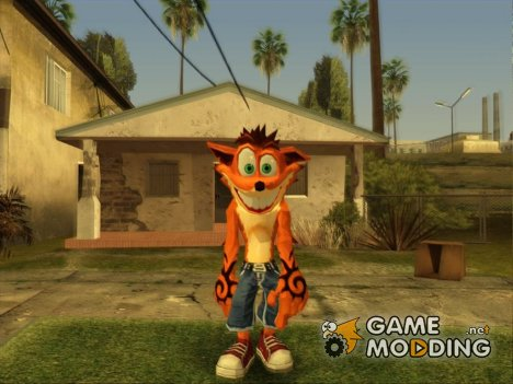 Crash Bandicoot for GTA San Andreas