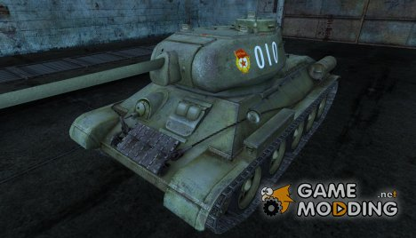 T-34-85 Fred00 для World of Tanks