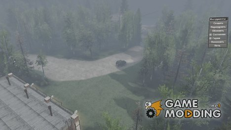 Карта GZA for Spintires 2014