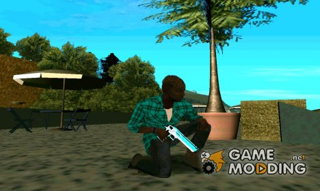 BlueLine Deagle для GTA San Andreas