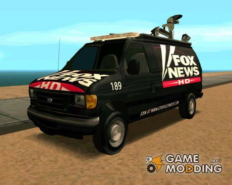 Ford E150 - Fox 11 News Van for GTA San Andreas