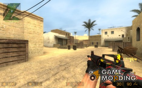 R&Y Camo M4A1 for Counter-Strike Source