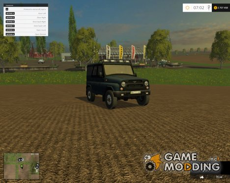 УАЗ-Хантер v2.0 для Farming Simulator 2015