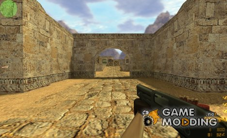 Serbu Super Shorty (dark) для Counter-Strike 1.6