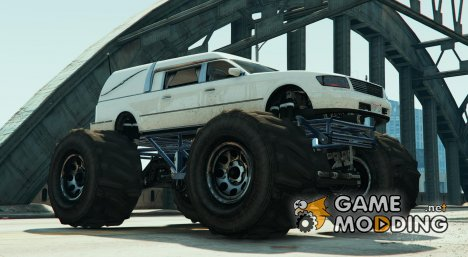 Romero monster truck for GTA 5