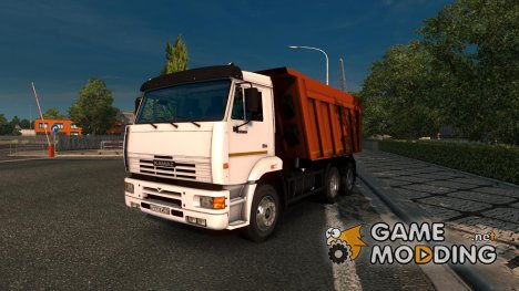 Kamaz 6520 + CZAP 83571 Trailer for Euro Truck Simulator 2